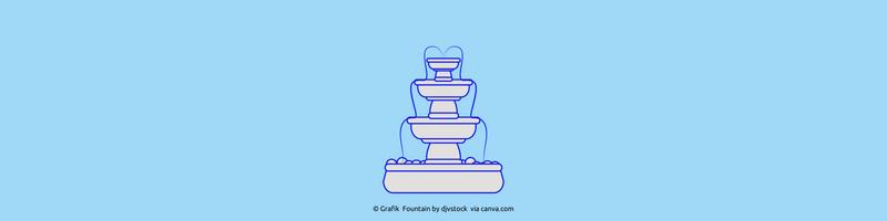 Fountain by Djystock via canva.com Kraftquellen wieder entdecken