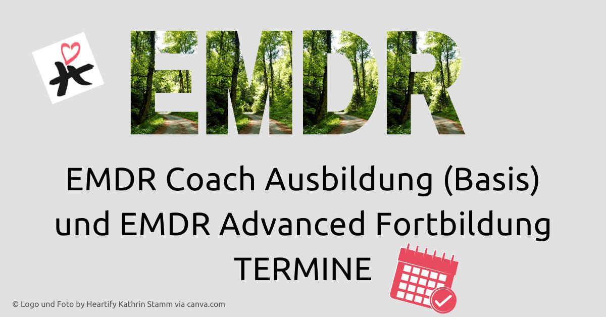 EMDR Ausbildung online Termine © Foto by Heartify Kathrin Stamm via canva.com