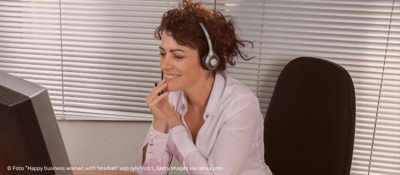 Audio Technik für Online Coaching © Foto